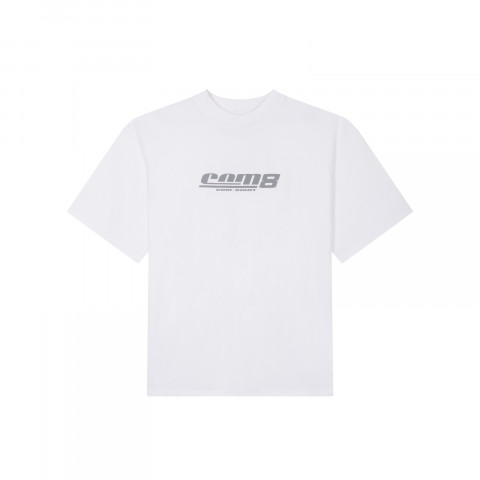 REFLECT PRINT LOGO T-SHIRT WHITE