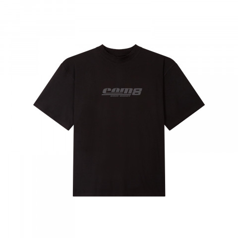 REFLECT PRINT LOGO T-SHIRT BLACK