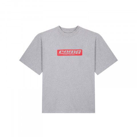 STAMP LOGO T-SHIRT GREY