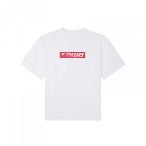 STAMP LOGO T-SHIRT WHITE