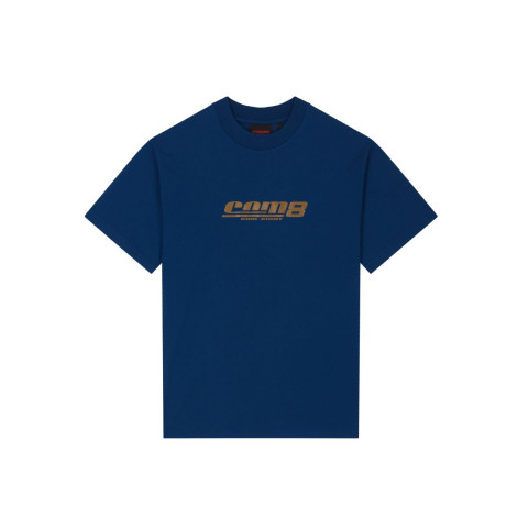 HERITAGE T-SHIRT CLASSIC LOGO GOLD NAVY