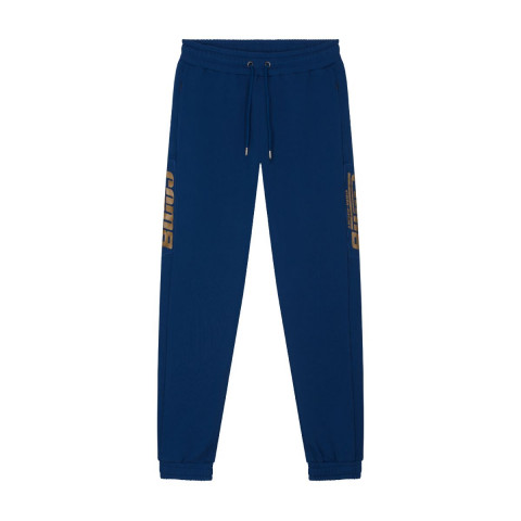 HERITAGE SWEATPANTS CLASSIC LOGO GOLD NAVY